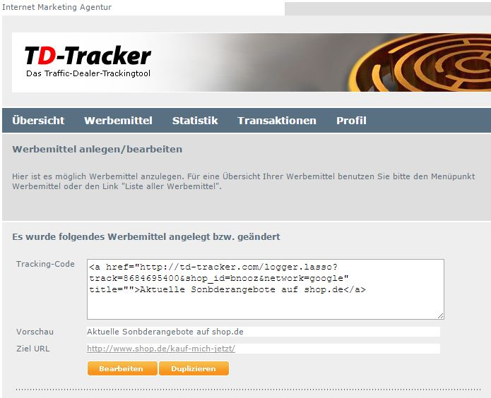 Tracking-code-adwords-affiliate-netzwerke