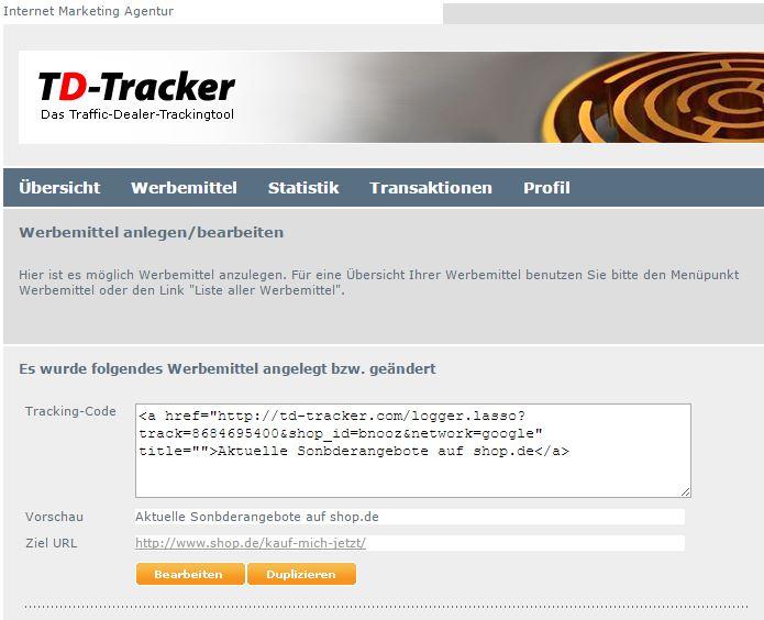 Tracking-code-adwords-affiliate-netzwerke