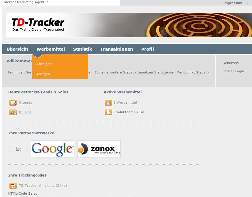 td-tracker-dashboard